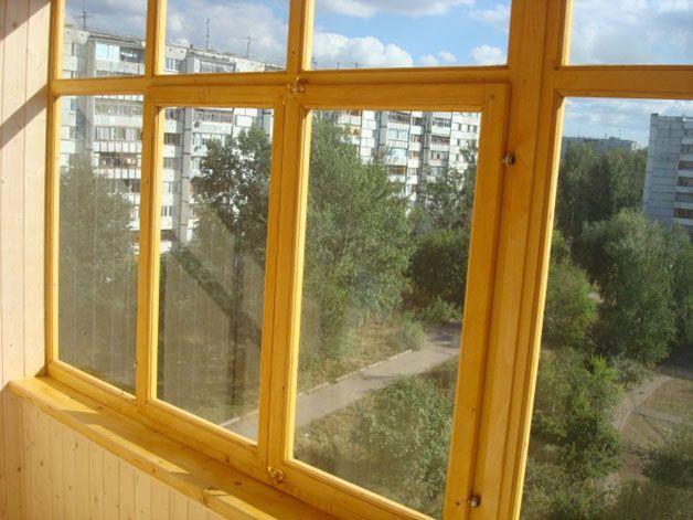 Окно в балкон своими руками