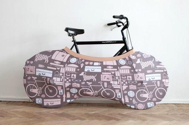 Велосипед на отапливаемом балконе