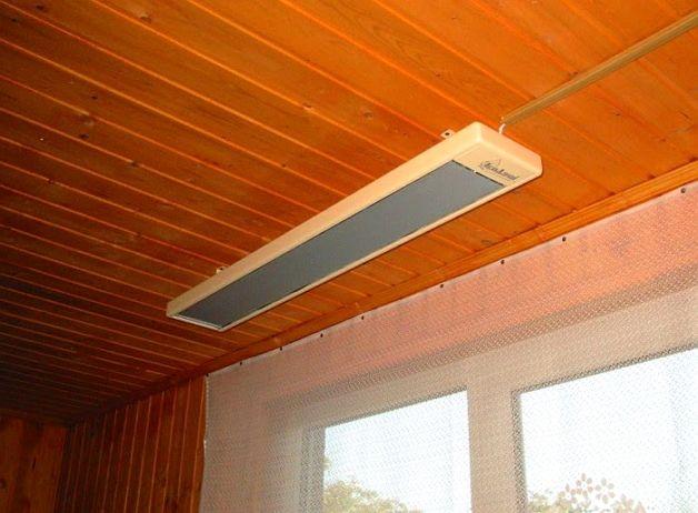 Инфракрасный обогреватель для балкона или лоджии