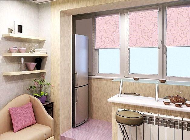 Холодильник на лоджии и балконе