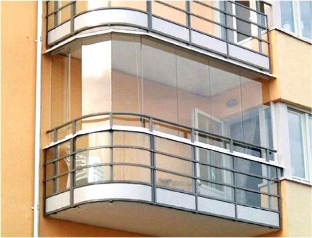 Закругленный вариант балкона