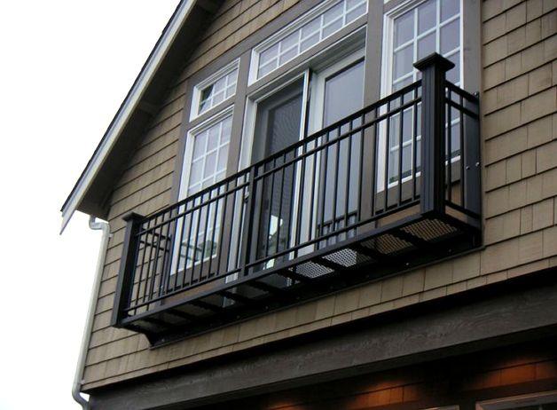 Самостоятельная установка балкона