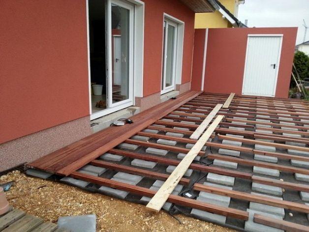 Подготовка площадки под веранду на даче