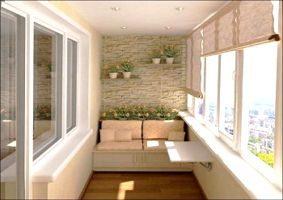 Возможный дизайн балкона