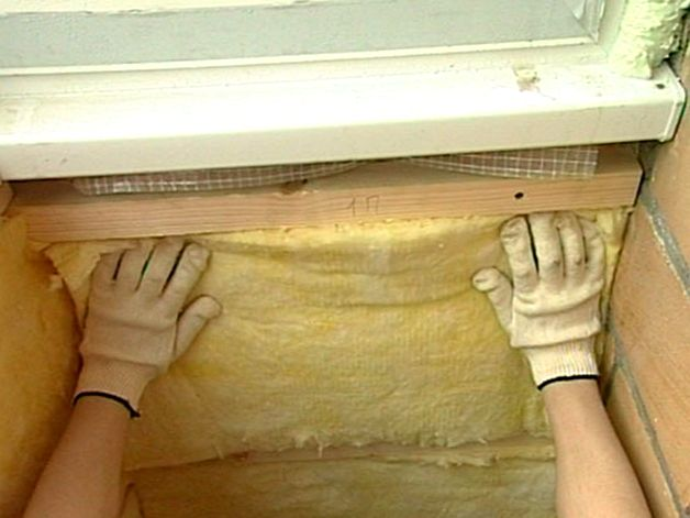 Утепление балкона и лоджии минеральной ватой своими руками.