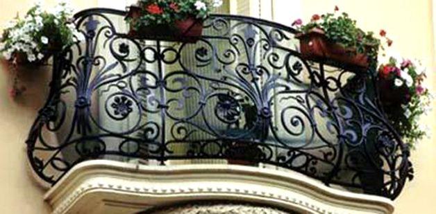 Ремонт балкона — ограждение