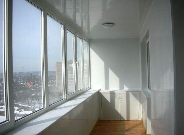 Ремонт лоджии пвх окнами