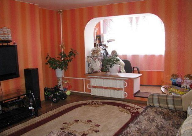 Совмещение лоджии и комнаты