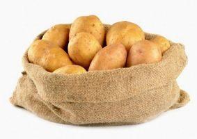 как хранить картошку на морозе