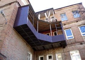 Строим балконы своими руками