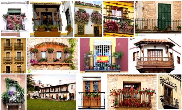 Испанские балконы