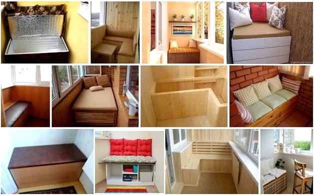 Малогабаритная балконная мебель.