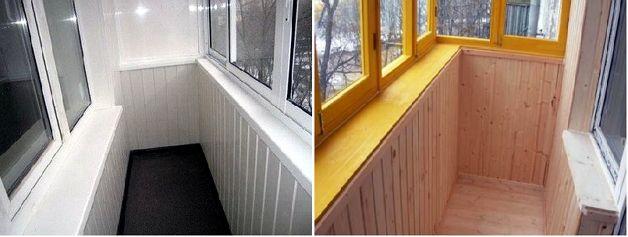 Внутренняя отделка балкона своими руками - , советы строител.